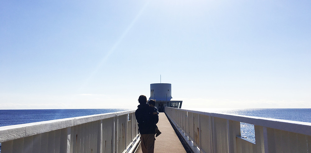 海中展望塔までの道のり|副腎疲労HP