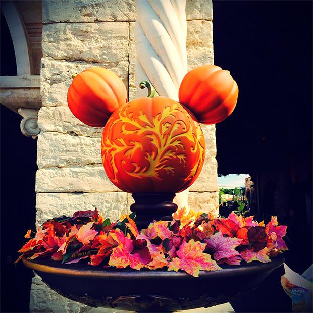 ディズニーシーのかぼちゃのオブジェ|副腎疲労HP