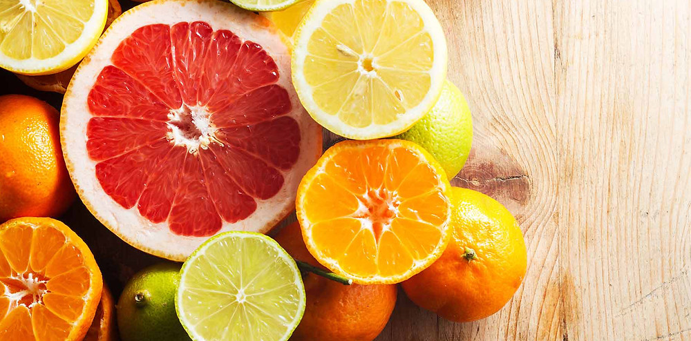 レモンやオレンジなどの柑橘類|副腎疲労HP