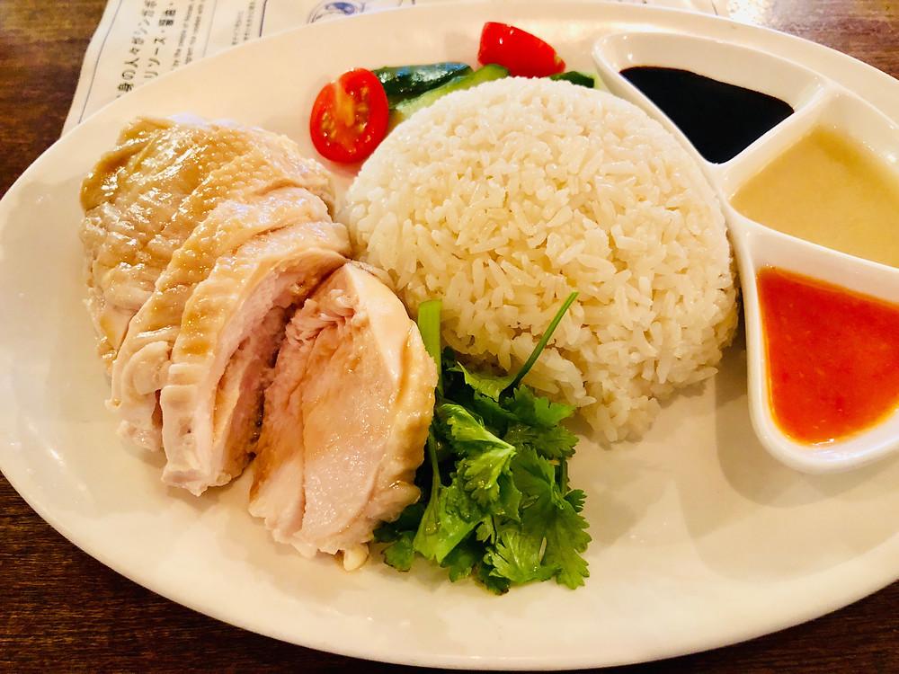麻布十番のおいしい名店|絶品のチキンライスに舌鼓「海南鶏飯食堂」