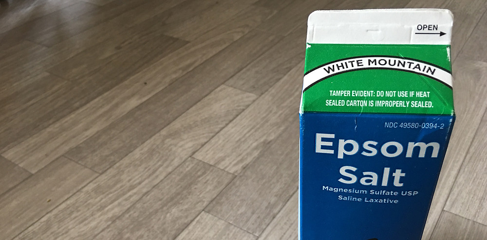 エプソムソルト 副腎疲労HP