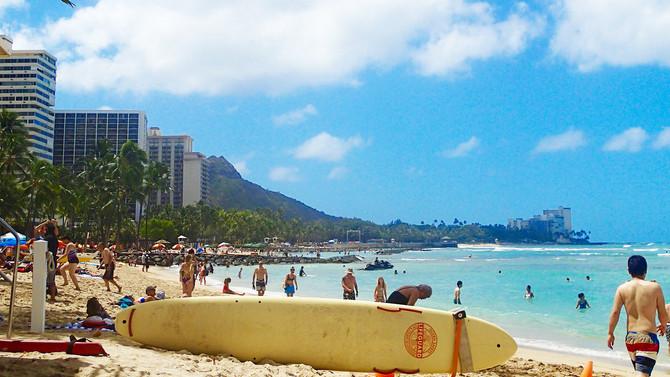 2歳の子供も一緒に「ハワイ」旅行へ