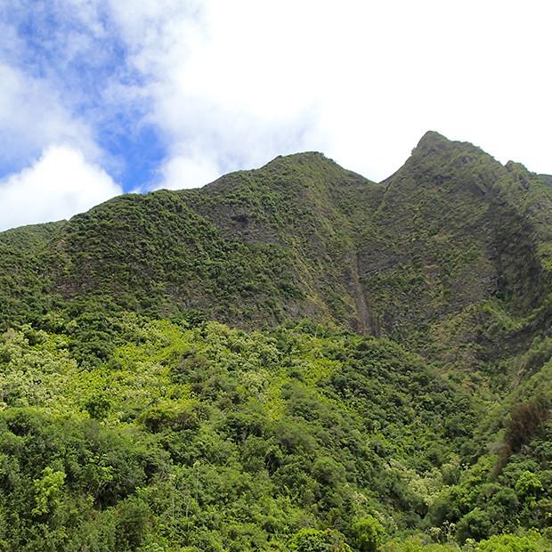 マウイ島の山|副腎疲労HP