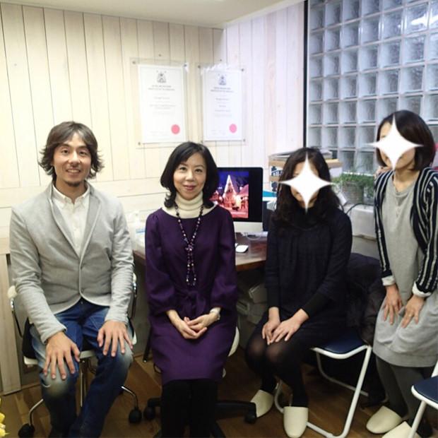 院長と3人の患者さん|副腎疲労HP