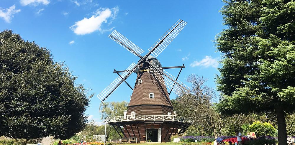 アンデルセン公園の風車|副腎疲労HP