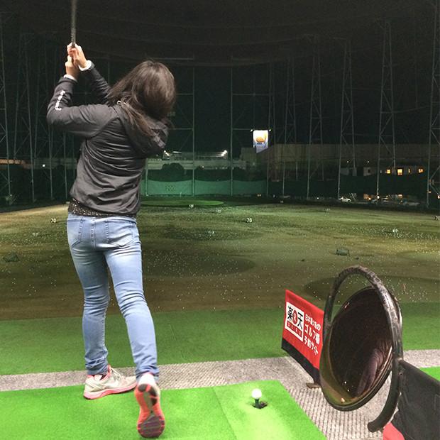 ゴルフの打ちっぱなし|副腎疲労HP