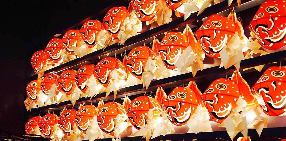 ねぶた祭りの魚の飾り|副腎疲労HP
