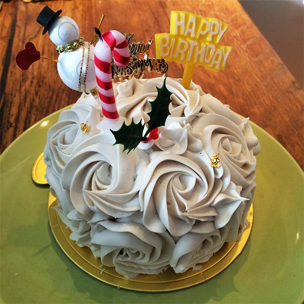 グルテンフリーのクリスマスケーキ|副腎疲労HP