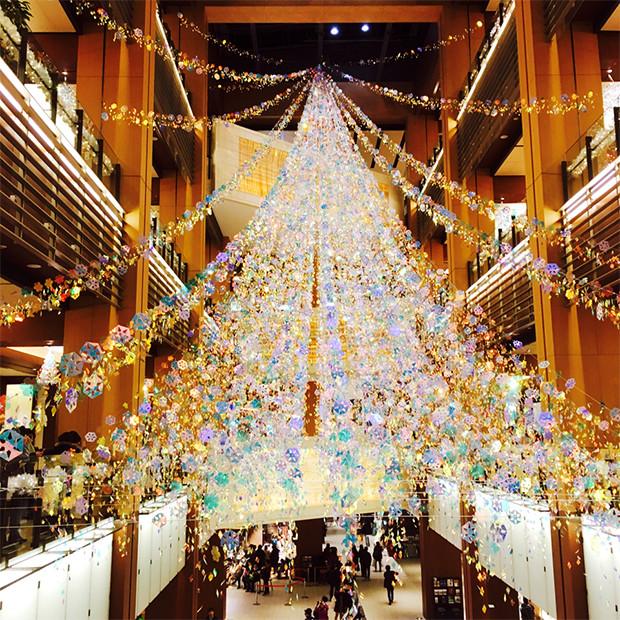 ミッドタウンのクリスマスイルミネーション2015②|副腎疲労HP