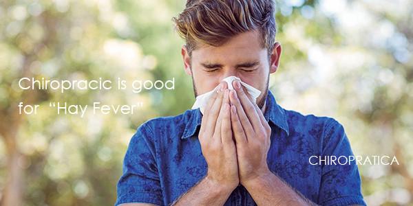 辛い症状で鼻をかむハンサムな男性|副腎疲労HP