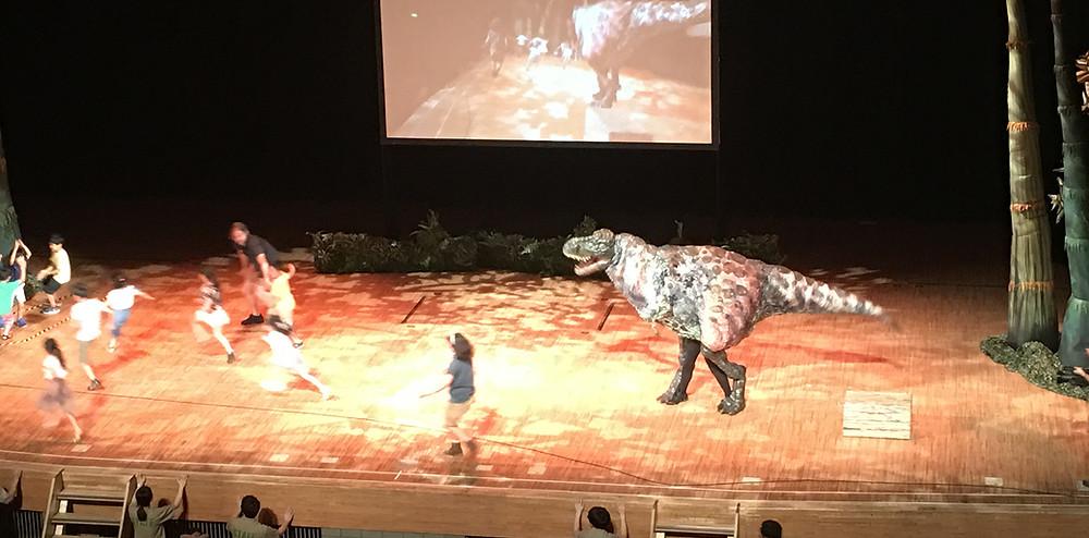 恐竜と子供達|副腎疲労HP