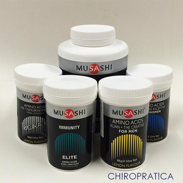 アミノ酸のサプリメント「MUSASHI」|副腎疲労HP