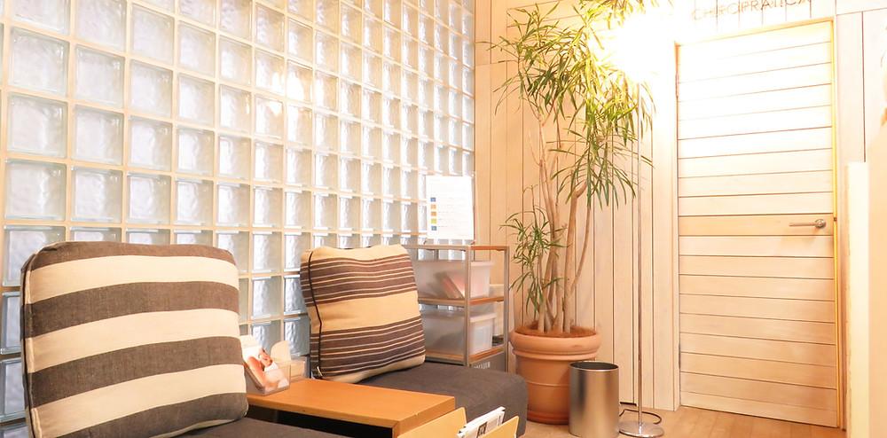 カイロプラティカの室内風景|副腎疲労HP