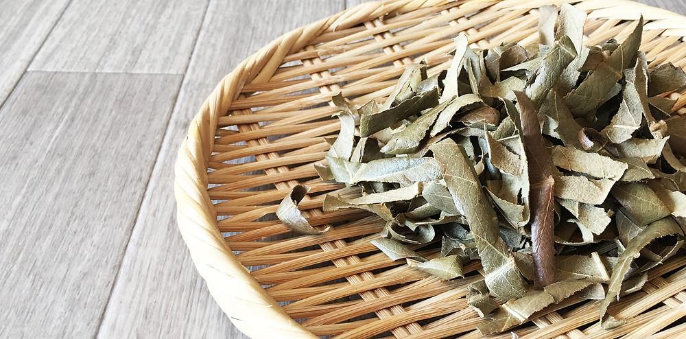 無農薬野菜のお取り寄せ②「びわの葉茶」|副腎疲労HP