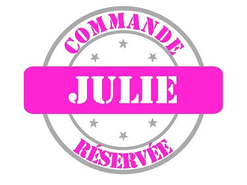 """Commande Julie spéciale """"grands frères"""""""