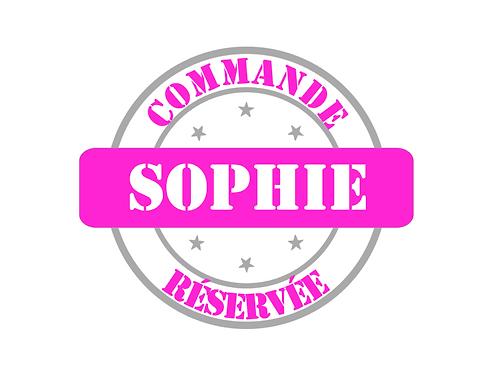 Commande Sophie