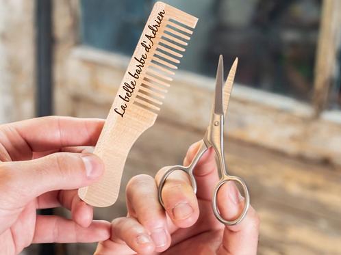 Kit d'entretien barbe personnalisé