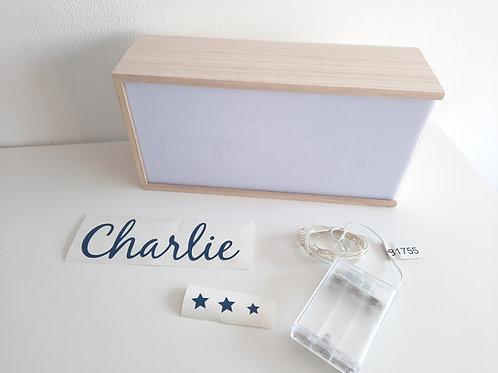 Kit créatif Lightbox / boite lumineuse