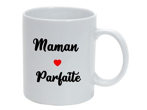 """Mug personnalisé  Maman Parfaite"""" cadeau fête des mères"""