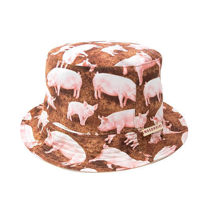Piggy bucket hat