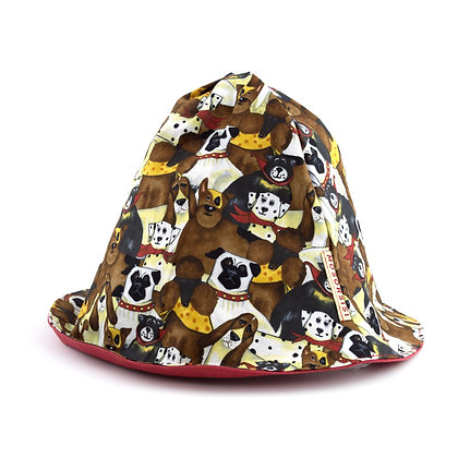 doggy pudding hat