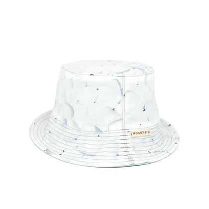 Marshmallow bucket hat