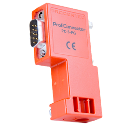 ProfiConnector plug cage-clamp - Orange