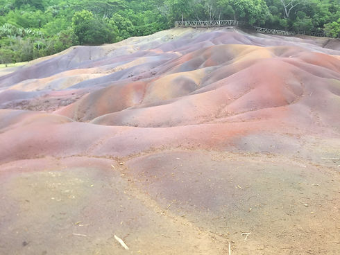 Chamarel Seven Coloured Sands