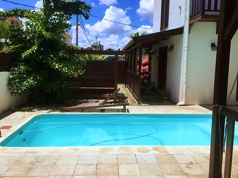 Our swimming pool .._