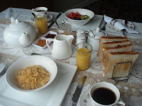 Continental breakfast.JPG