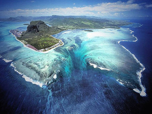 Undersea waterfalls
