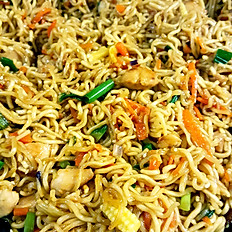 Springy Noodle Chicken & Veggie Chow Mien