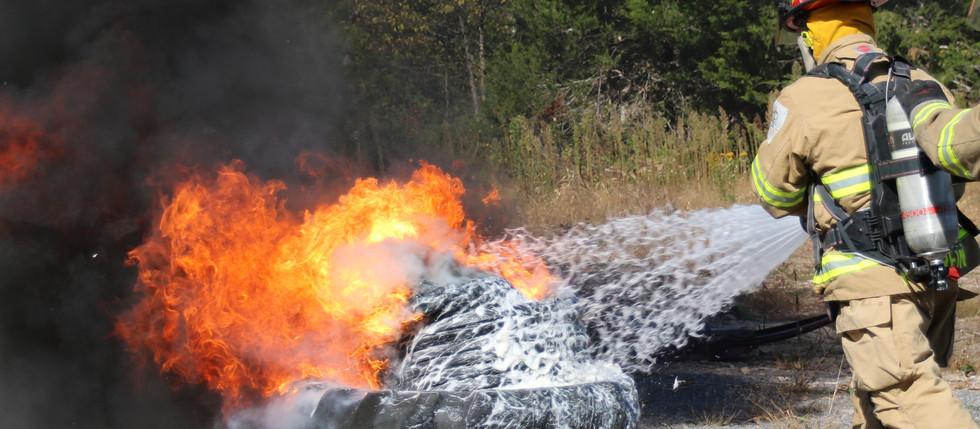 FireRein Tire Fire