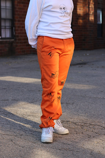 ORANGE TEETH PANTS 1 of 1