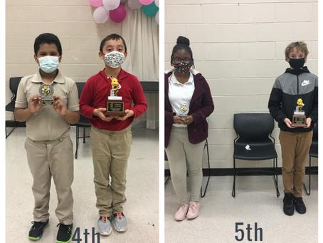LVA Spelling Bee Winners!