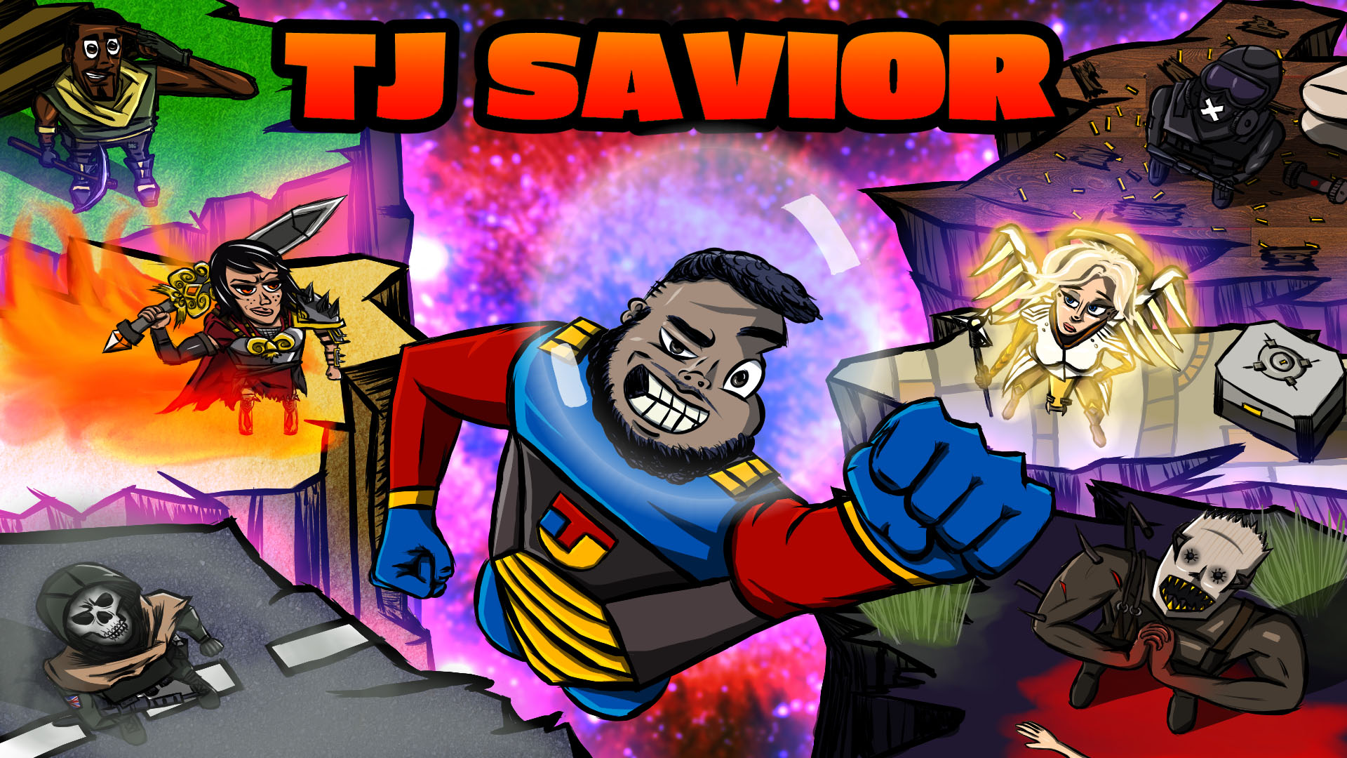 TJ Savior Twitch banner
