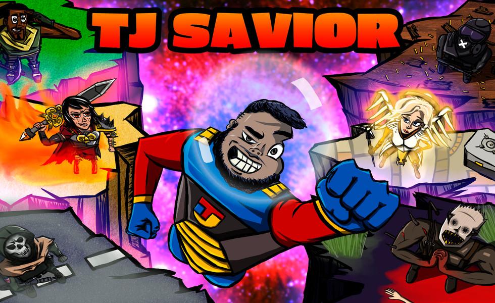 TJ Savior Twitch banner