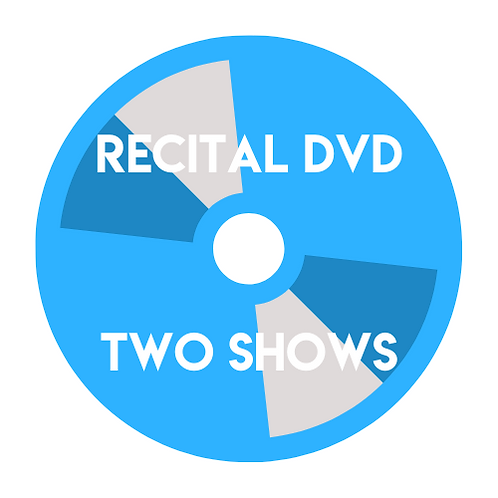 Recital DVD - Two Shows