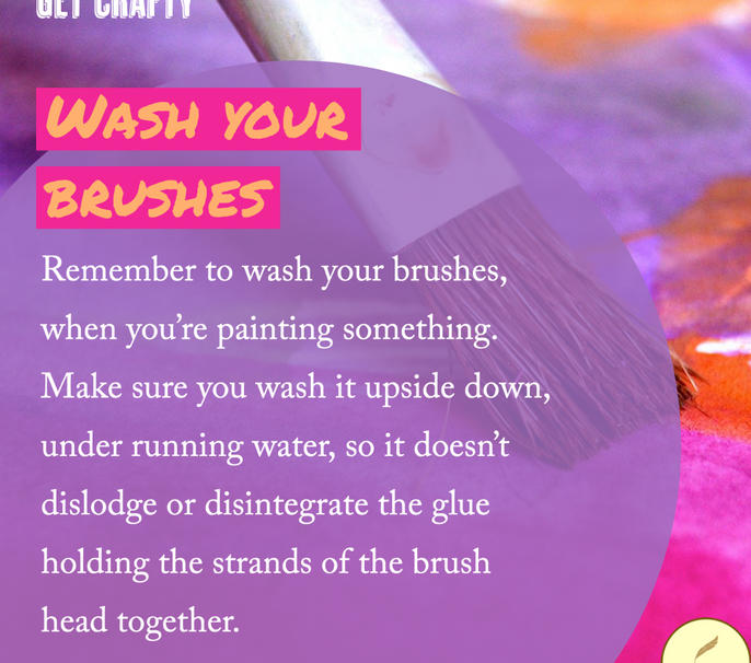 Wash Your Brushes