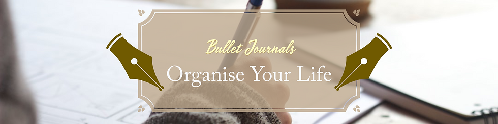 Bullet Journals - Organise Your Life Fea