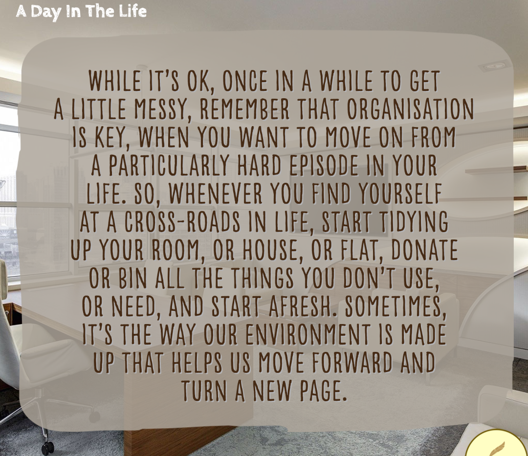 Move Forward By Cleaning Up