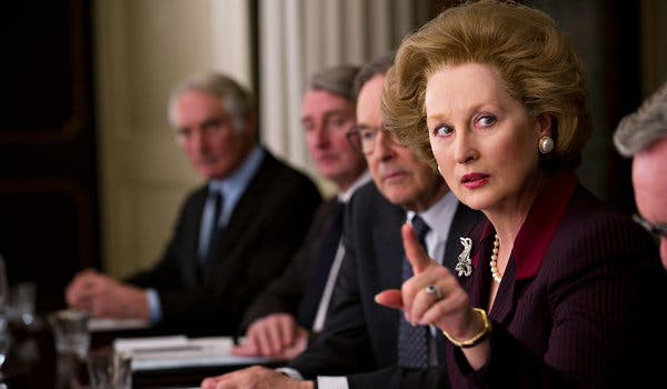 """A scene from """"The Iron Lady"""" (2011)"""