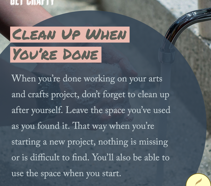 Clean Up When You're Done