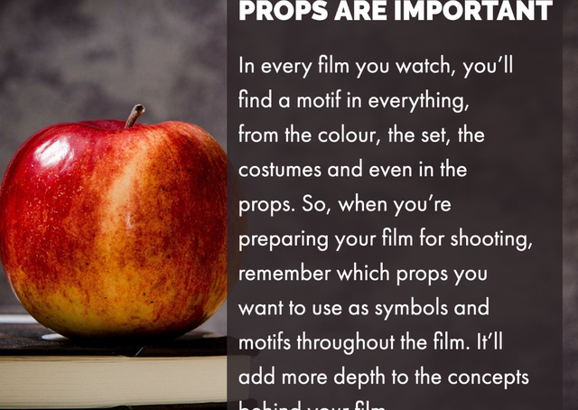 Props Are Important