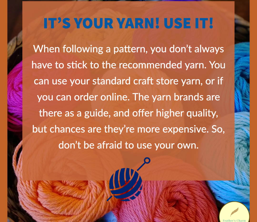It's Your Yarn! Use It!