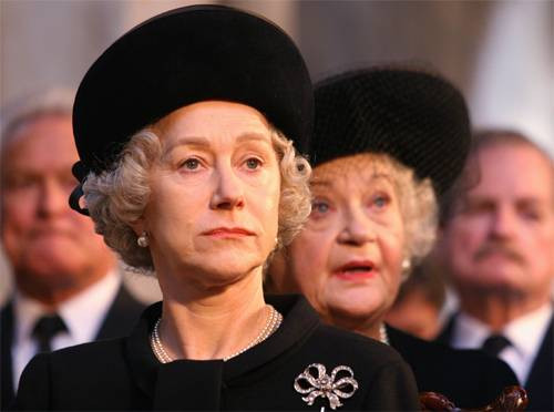 """A scene from """"The Queen"""" (2006)"""