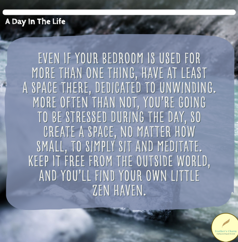 Make Your Own Zen Space