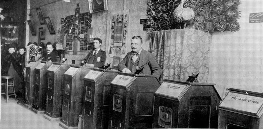 San Francisco Kinetoscope Parlor, 1895
