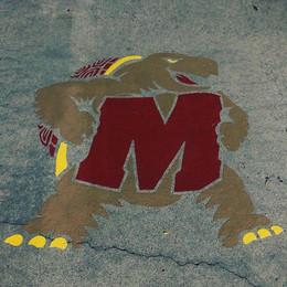 Universtiy of Maryland Custom Stencil
