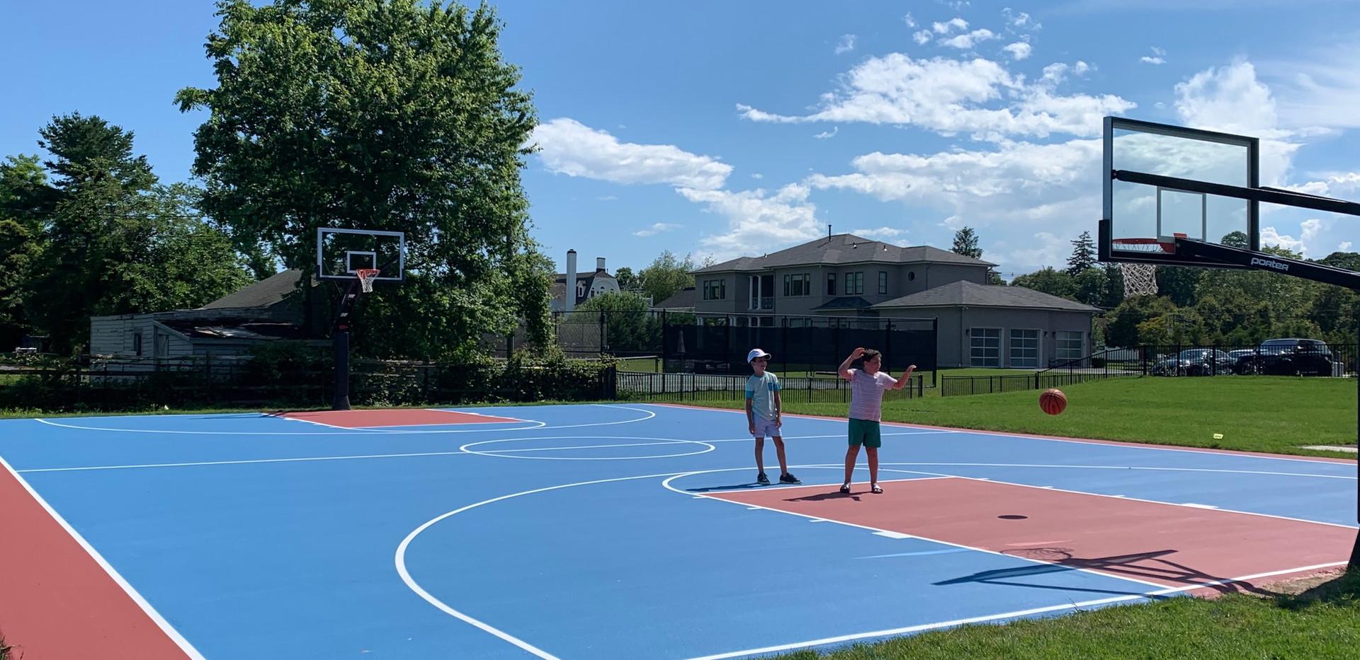 Community Basketball Camp Training
